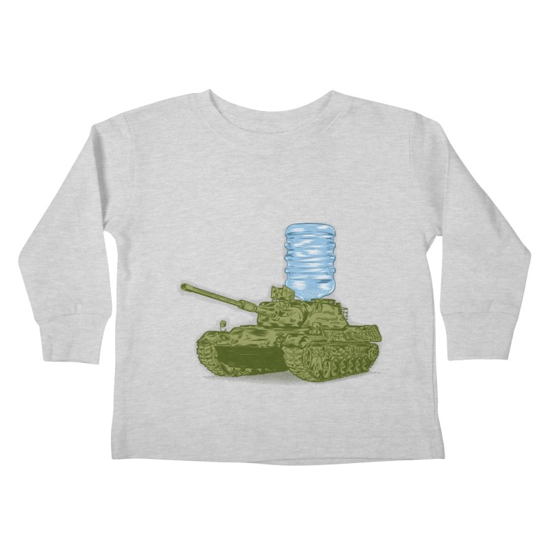 Water Tank Kids Toddler Longsleeve T-Shirt by mainial's Artist Shop