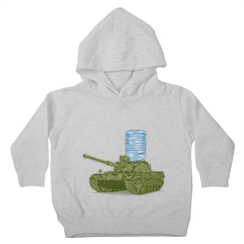 Water Tank Kids Toddler Pullover Hoody by mainial's Artist Shop