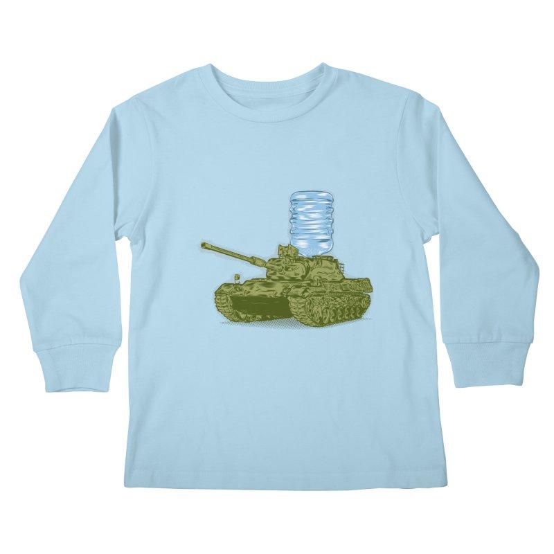 Water Tank Kids Longsleeve T-Shirt by mainial's Artist Shop