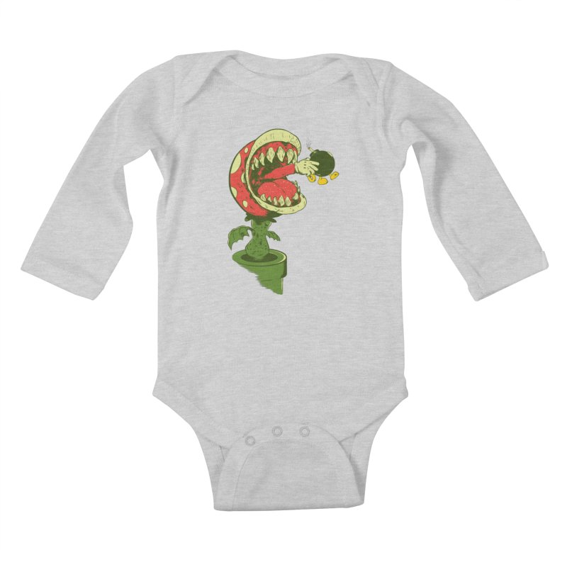the ultimate weapon Kids Baby Longsleeve Bodysuit by mainial's Artist Shop
