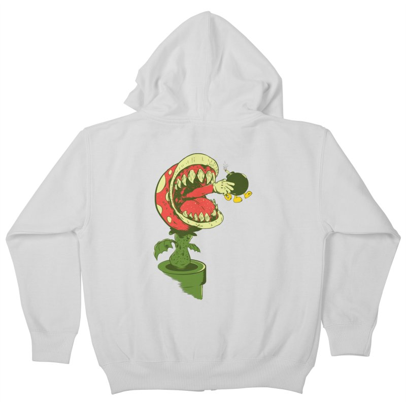 the ultimate weapon Kids Zip-Up Hoody by mainial's Artist Shop