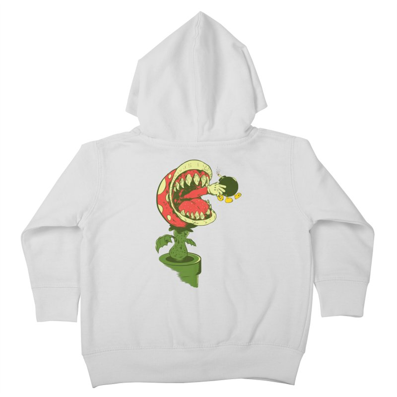 the ultimate weapon Kids Toddler Zip-Up Hoody by mainial's Artist Shop