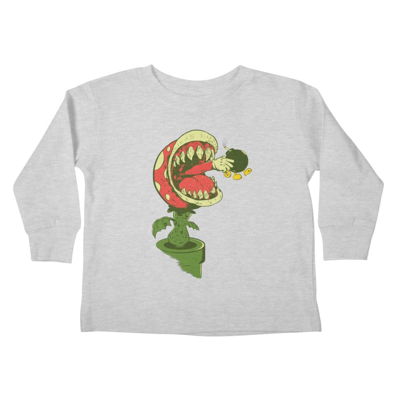 the ultimate weapon Kids Toddler Longsleeve T-Shirt by mainial's Artist Shop