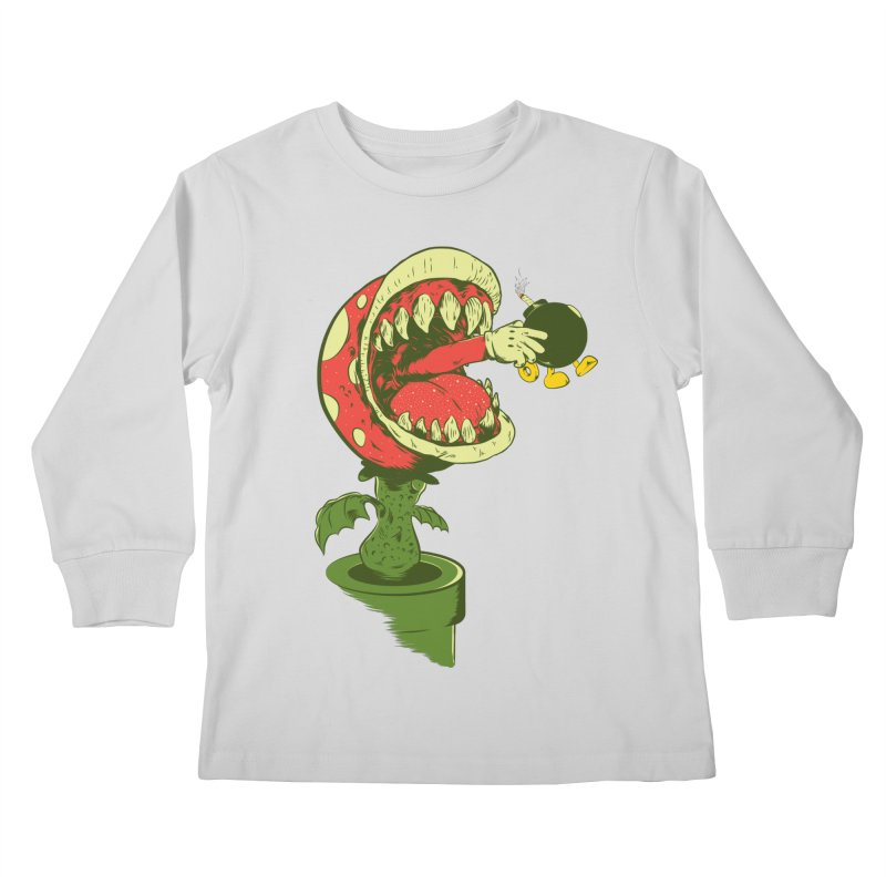 the ultimate weapon Kids Longsleeve T-Shirt by mainial's Artist Shop