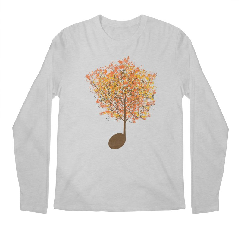 The Note Tree Men's Regular Longsleeve T-Shirt by mainial's Artist Shop