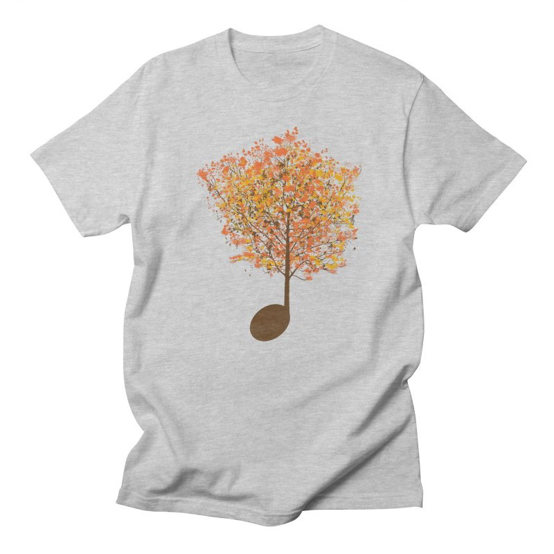 The Note Tree Men's T-shirt by mainial's Artist Shop