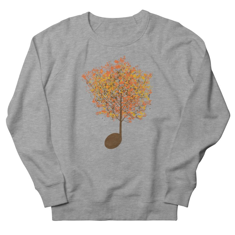 The Note Tree Men's Sweatshirt by mainial's Artist Shop