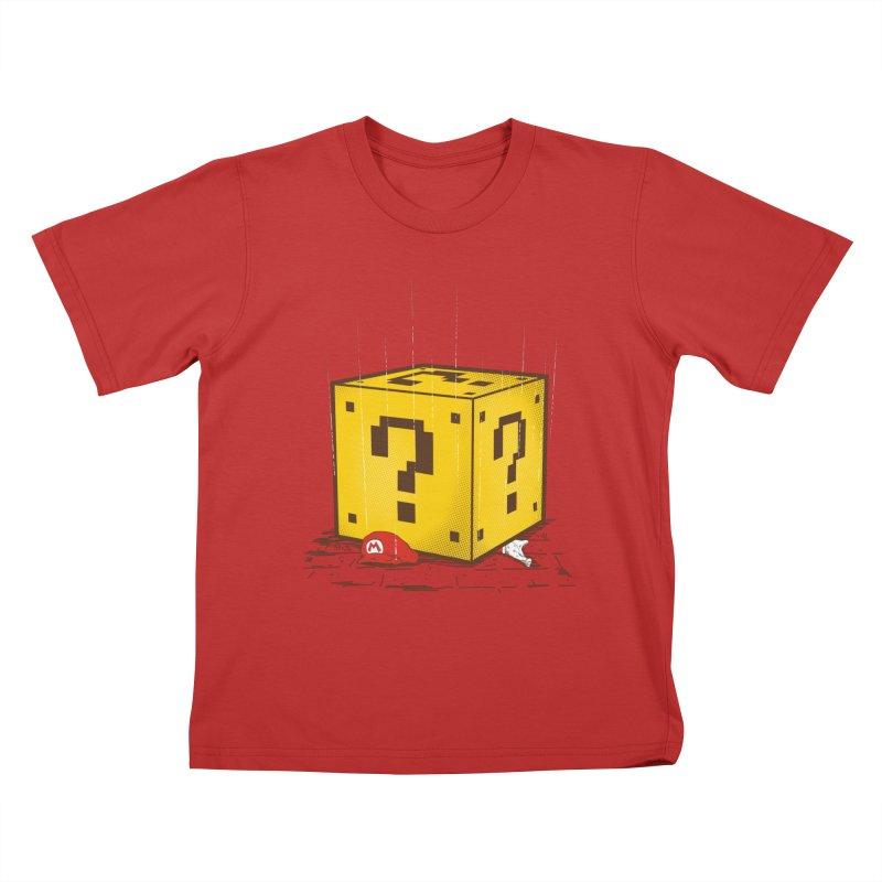 Knock Down Kids T-shirt by mainial's Artist Shop