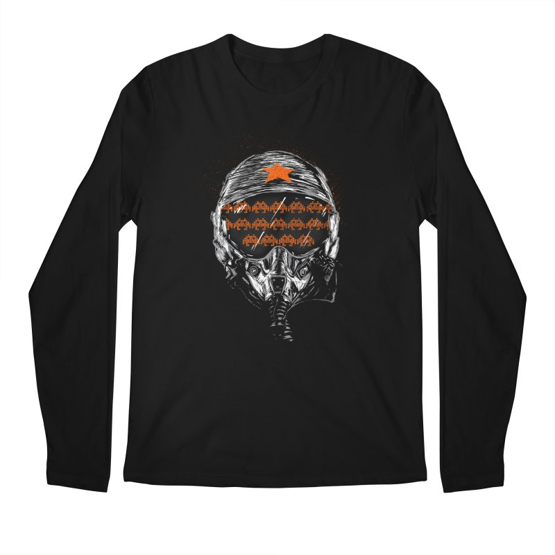 Space Wars Men's Regular Longsleeve T-Shirt by mainial's Artist Shop