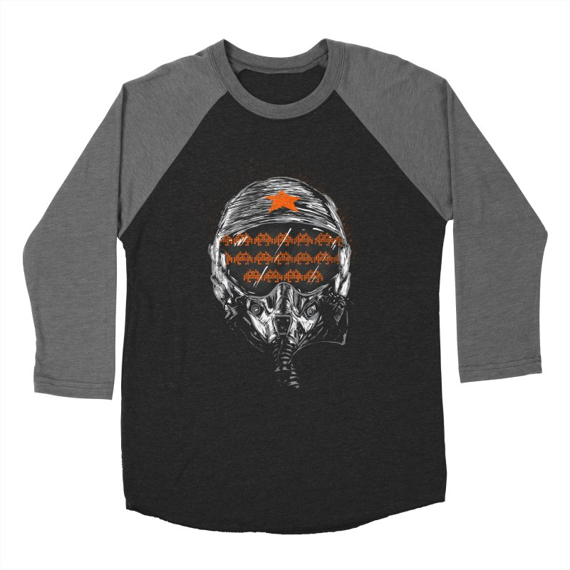 Space Wars Men's Baseball Triblend T-Shirt by mainial's Artist Shop