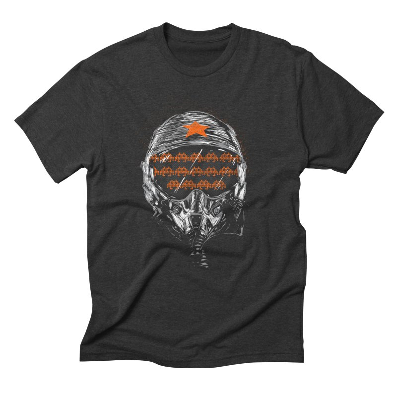 Space Wars Men's Triblend T-shirt by mainial's Artist Shop