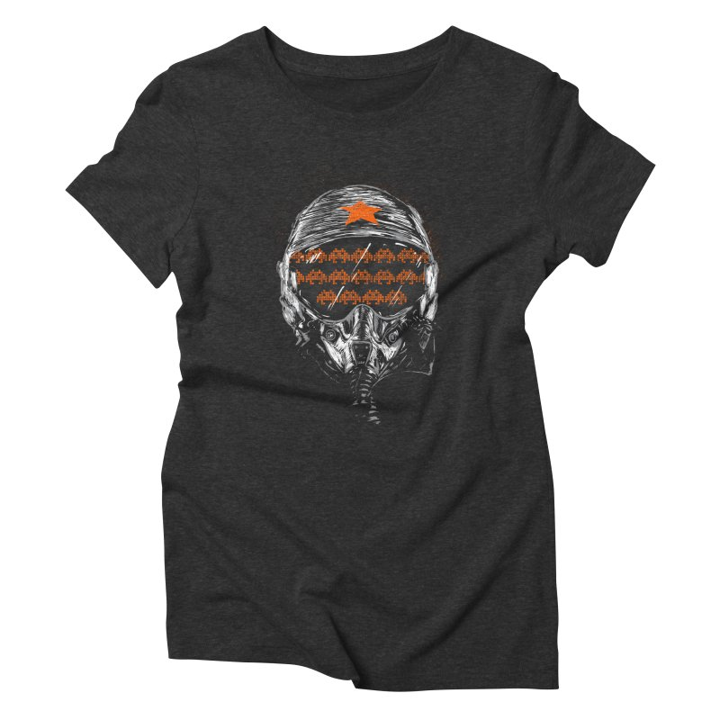 Space Wars Women's Triblend T-shirt by mainial's Artist Shop