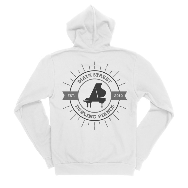 Main Street Logo Men's Zip-Up Hoody by Main Street Dueling Pianos