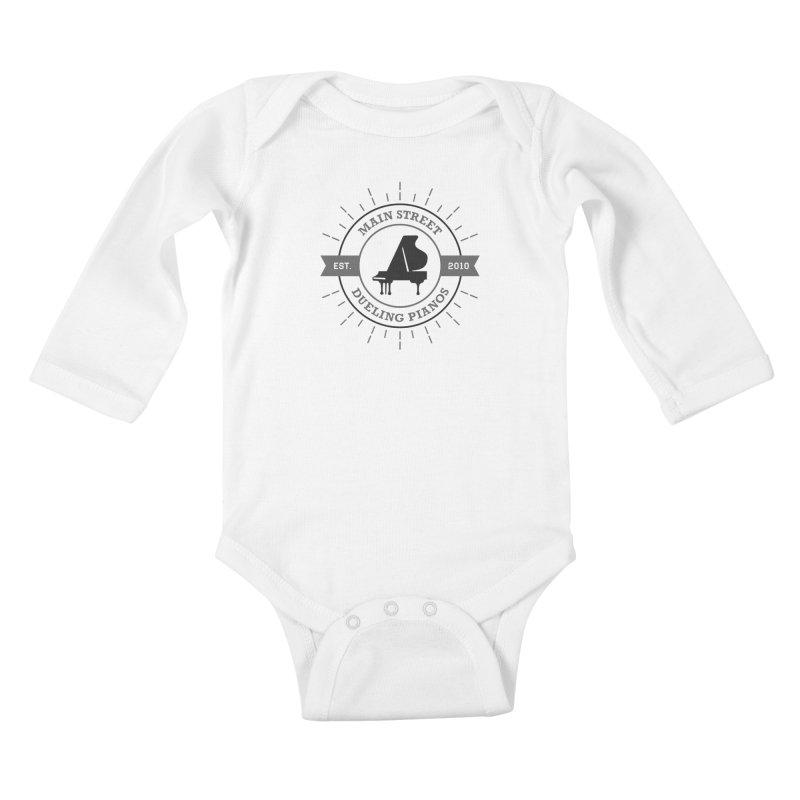 Main Street Logo Kids Baby Longsleeve Bodysuit by Main Street Dueling Pianos