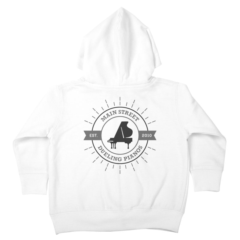 Main Street Logo Kids Toddler Zip-Up Hoody by Main Street Dueling Pianos