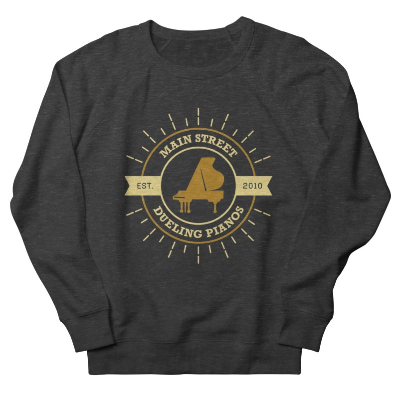 Main Street Logo Men's French Terry Sweatshirt by Main Street Dueling Pianos