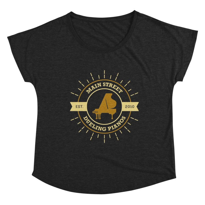 Main Street Logo Women's Scoop Neck by Main Street Dueling Pianos