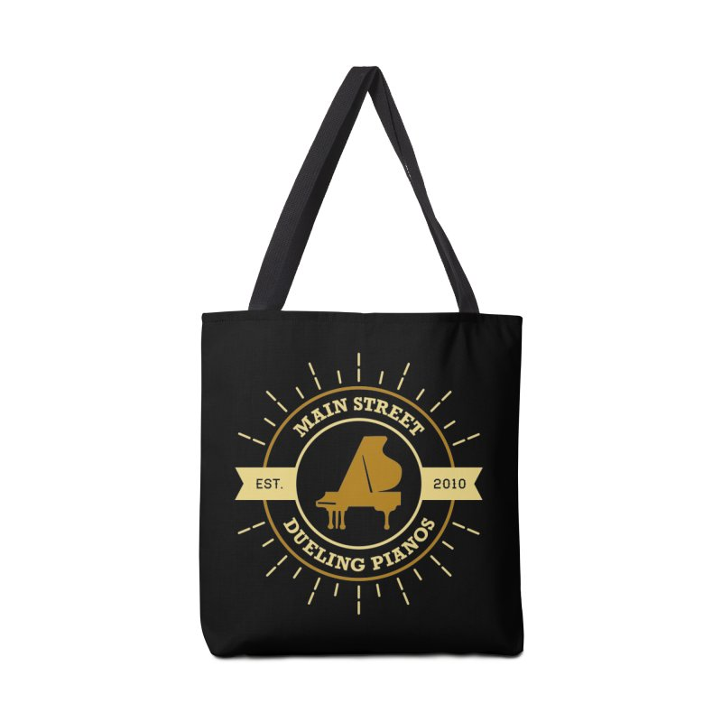 Main Street Logo Accessories Tote Bag Bag by Main Street Dueling Pianos