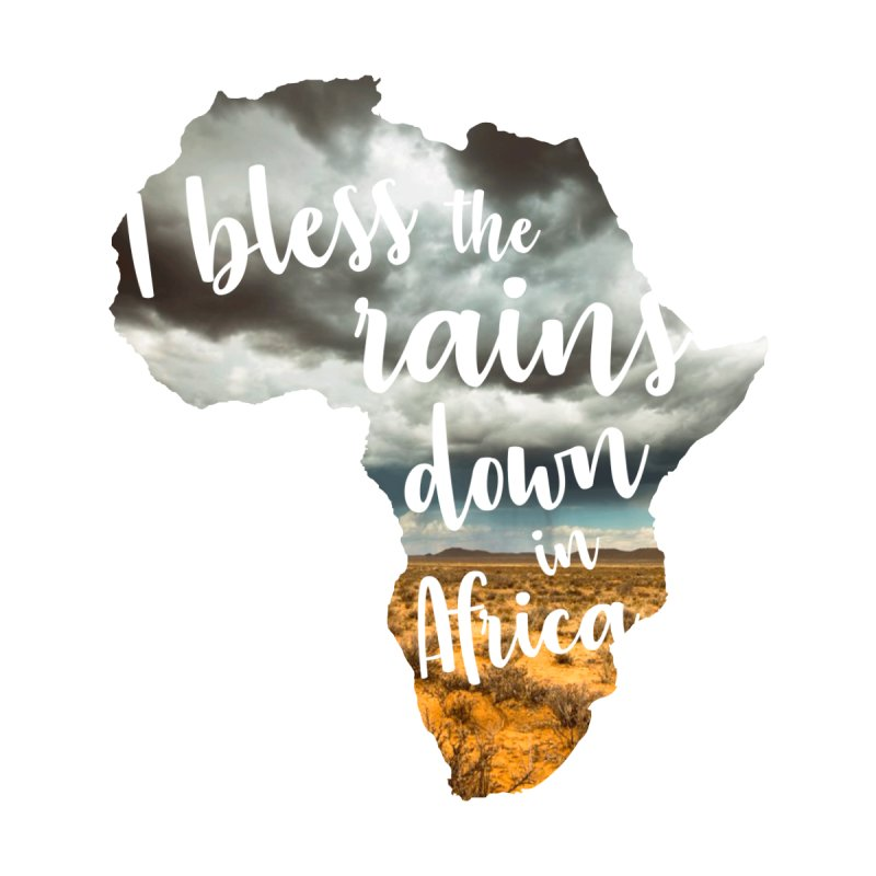 Africa Women's V-Neck by Main Street Dueling Pianos