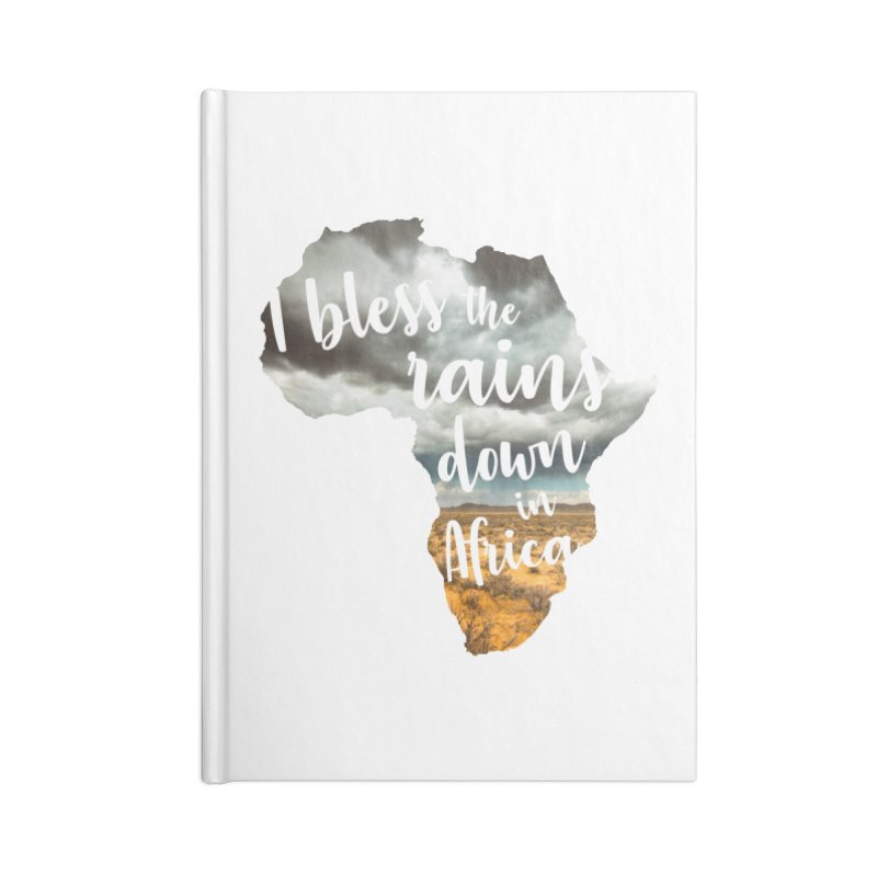 Africa Accessories Blank Journal Notebook by Main Street Dueling Pianos