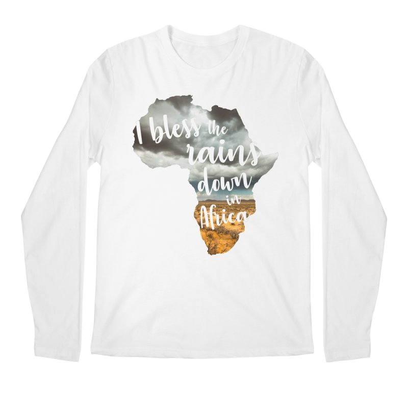 Africa Men's Regular Longsleeve T-Shirt by Main Street Dueling Pianos