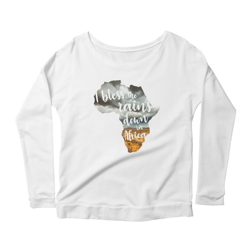 Africa Women's Scoop Neck Longsleeve T-Shirt by Main Street Dueling Pianos