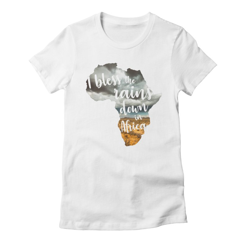 Africa Women's Fitted T-Shirt by Main Street Dueling Pianos