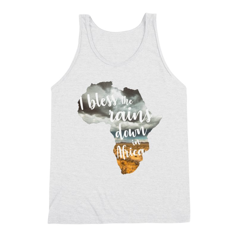 Africa Men's Triblend Tank by Main Street Dueling Pianos