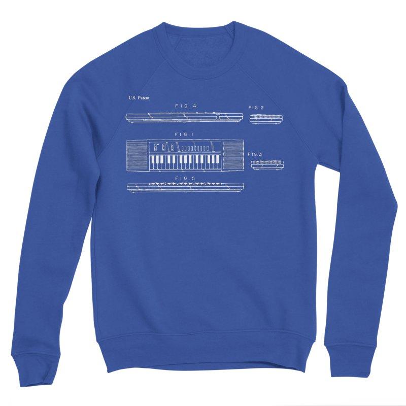 Keyboard Patent Women's Sponge Fleece Sweatshirt by Main Street Dueling Pianos