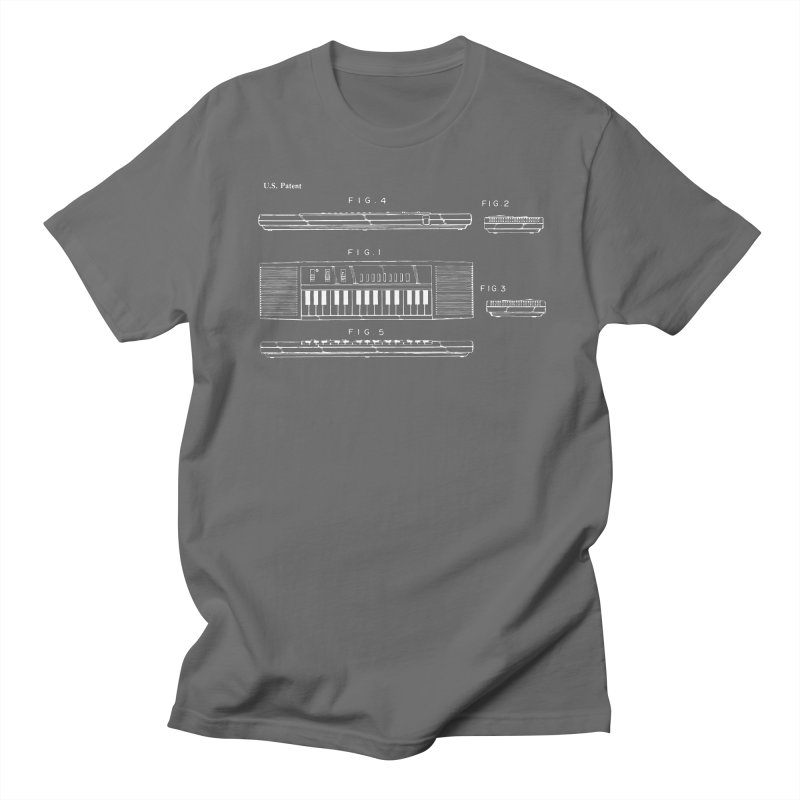 Keyboard Patent Men's T-Shirt by Main Street Dueling Pianos