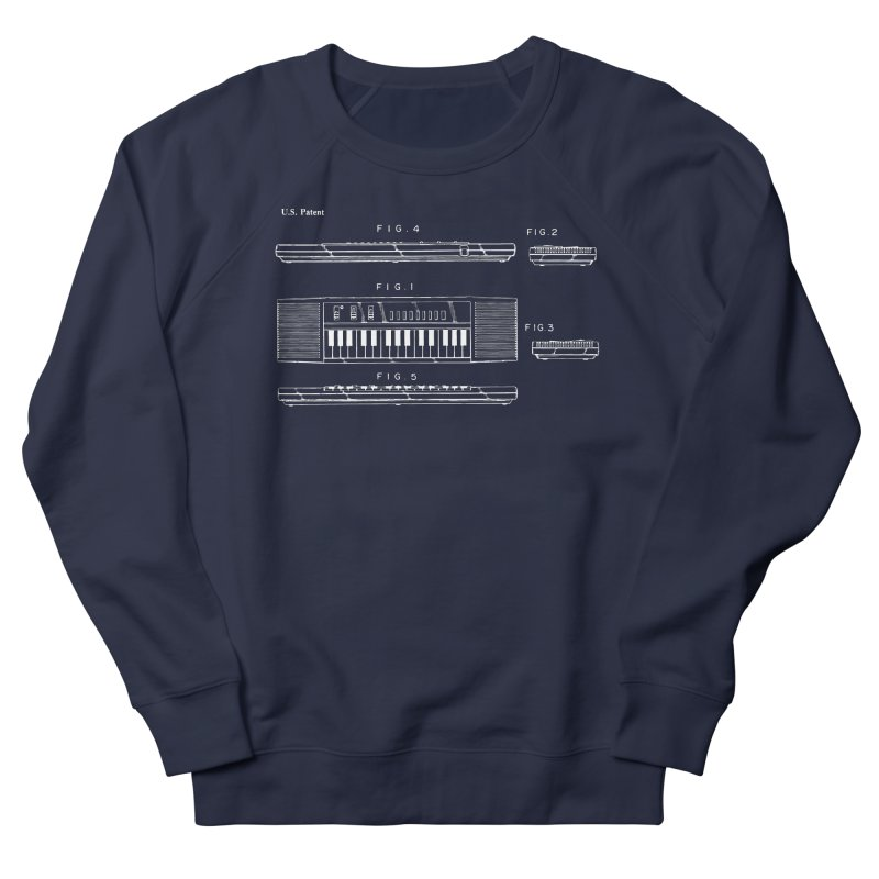 Keyboard Patent Women's Sweatshirt by Main Street Dueling Pianos