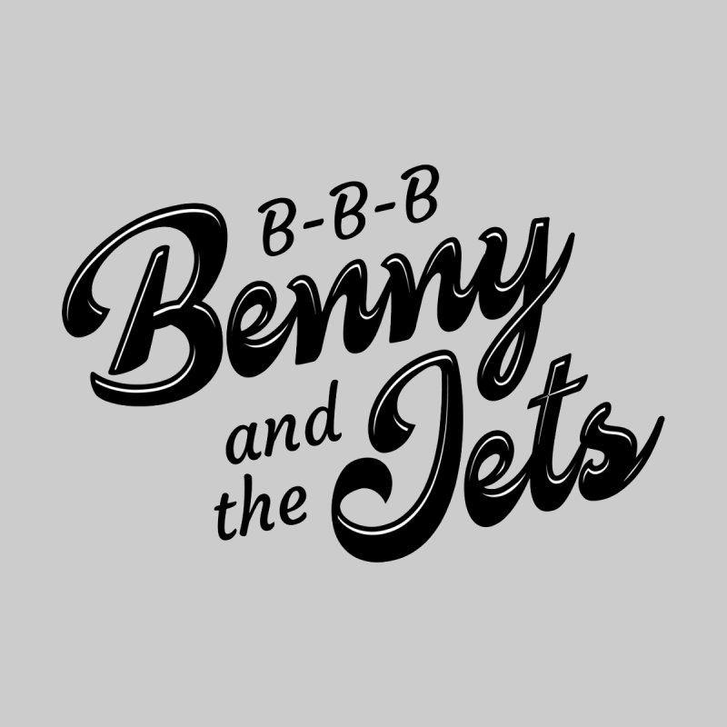 Benny & the Jets Women's V-Neck by Main Street Dueling Pianos