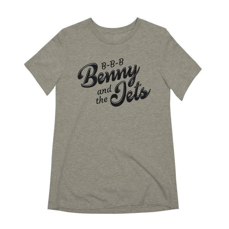 Benny & the Jets Women's Extra Soft T-Shirt by Main Street Dueling Pianos