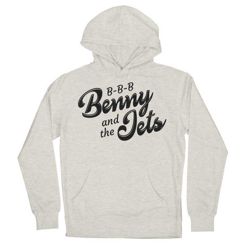Benny & the Jets Men's French Terry Pullover Hoody by Main Street Dueling Pianos