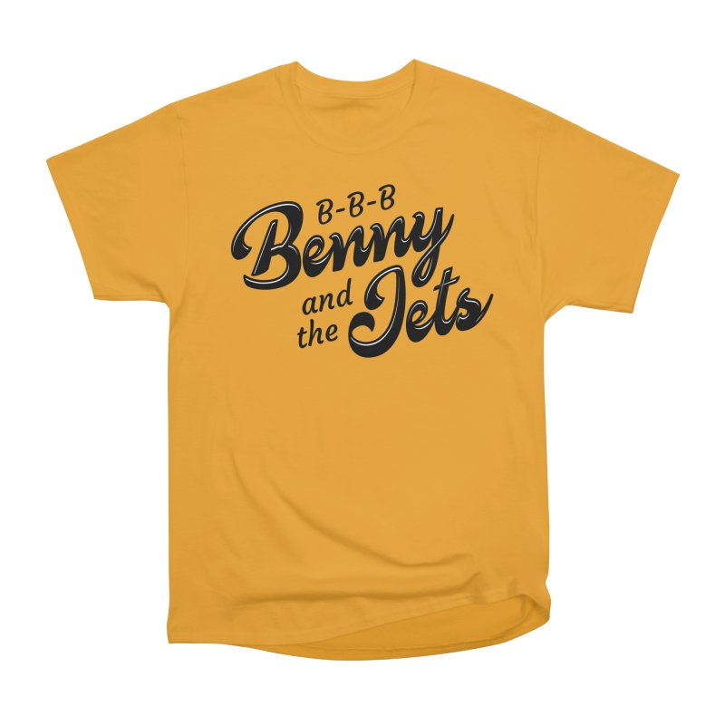 Benny & the Jets Men's Heavyweight T-Shirt by Main Street Dueling Pianos