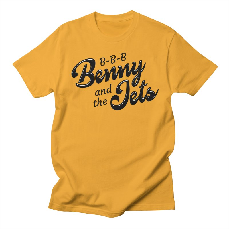 Benny & the Jets Men's T-Shirt by Main Street Dueling Pianos