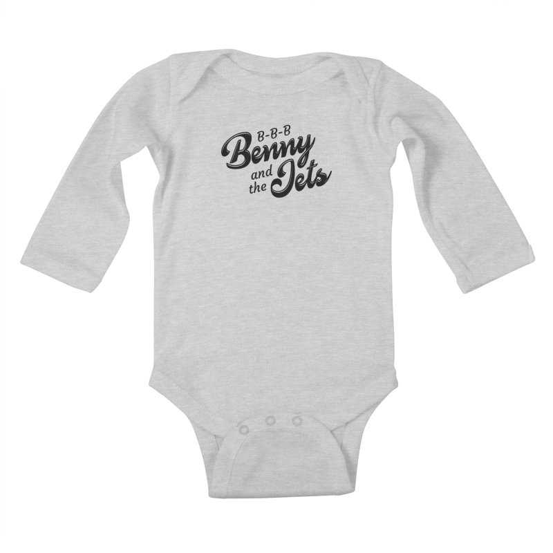 Benny & the Jets Kids Baby Longsleeve Bodysuit by Main Street Dueling Pianos