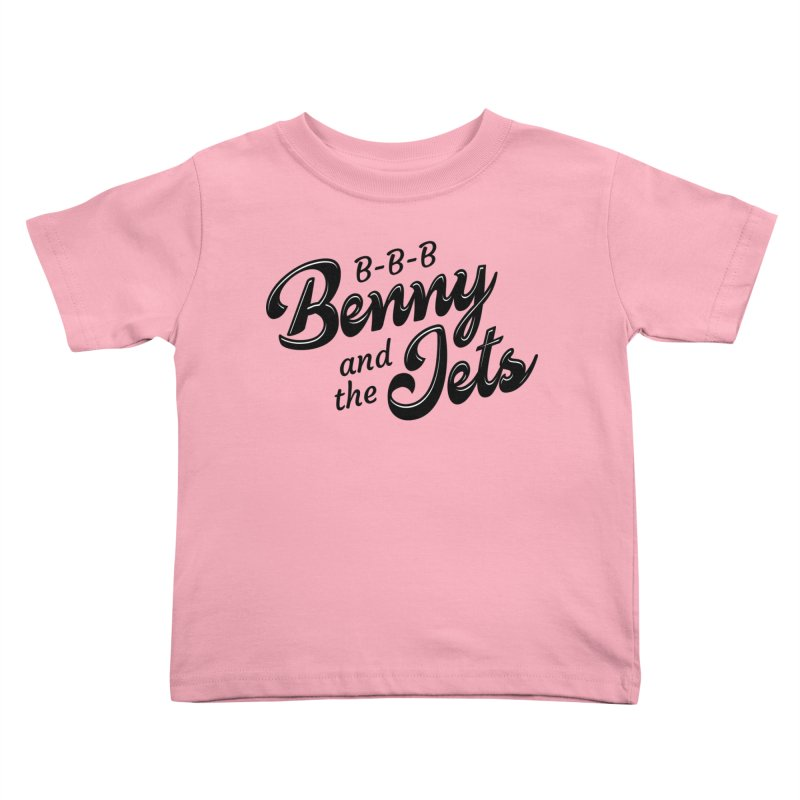 Benny & the Jets Kids Toddler T-Shirt by Main Street Dueling Pianos
