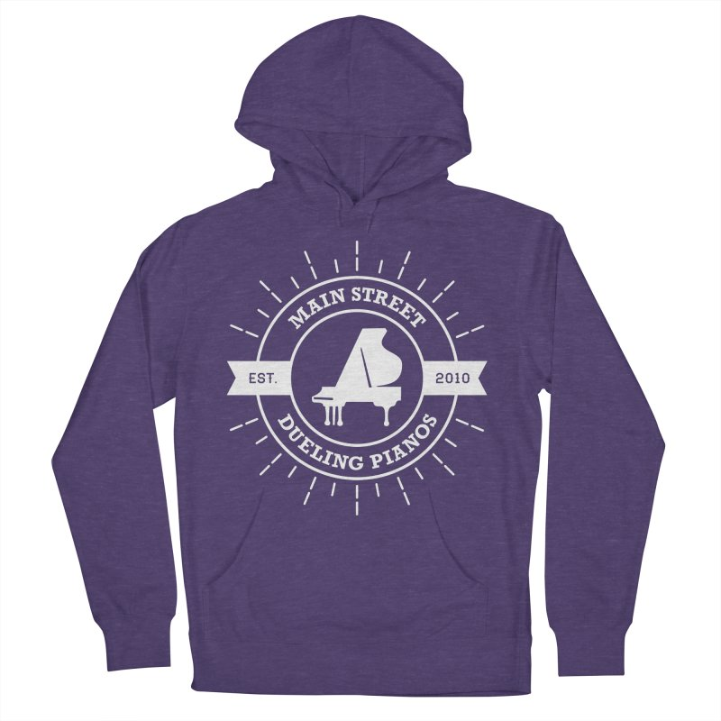 Main Street Logo Women's French Terry Pullover Hoody by Main Street Dueling Pianos