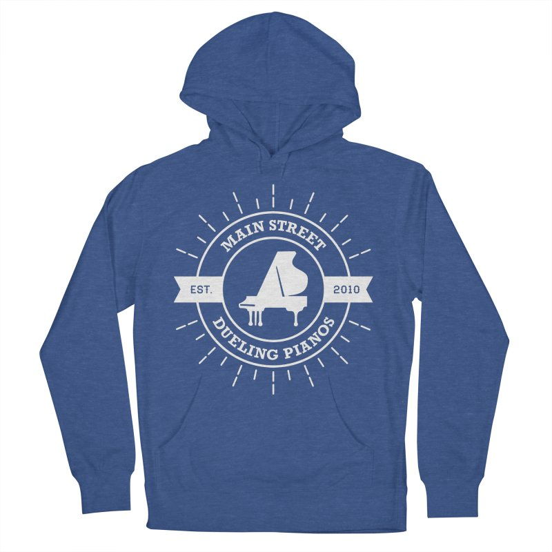 Main Street Logo Men's French Terry Pullover Hoody by Main Street Dueling Pianos