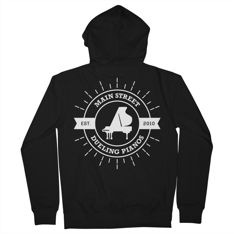 Main Street Logo Men's French Terry Zip-Up Hoody by Main Street Dueling Pianos
