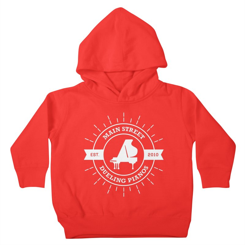 Main Street Logo Kids Toddler Pullover Hoody by Main Street Dueling Pianos