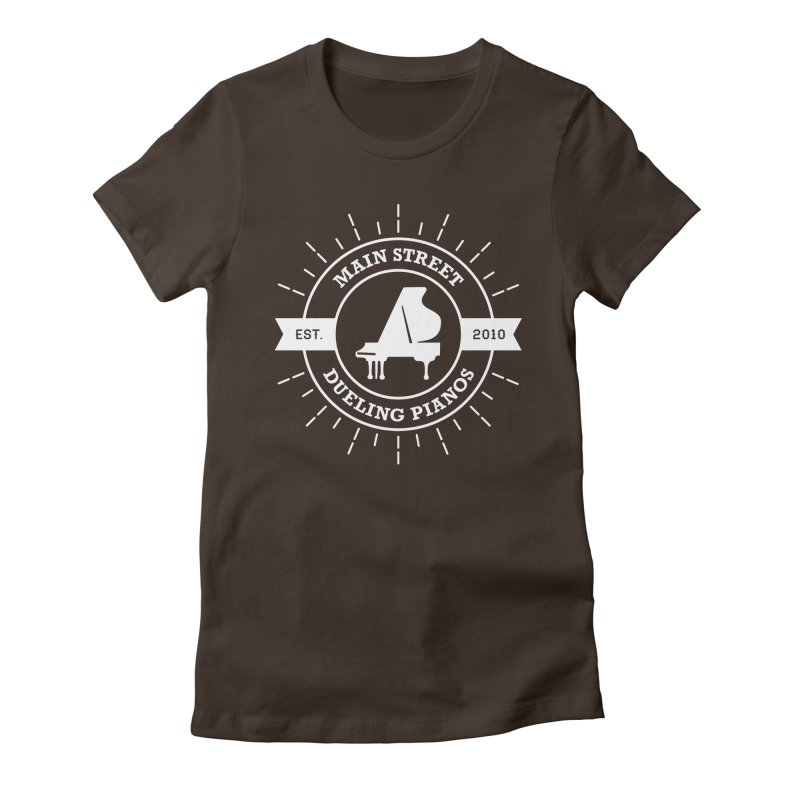 Main Street Logo Women's T-Shirt by Main Street Dueling Pianos