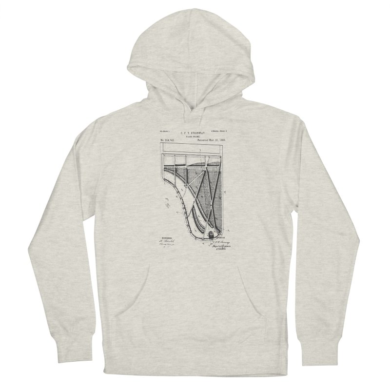 Steinway Patent Men's Pullover Hoody by Main Street Dueling Pianos