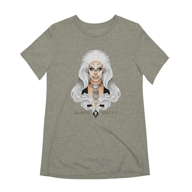 Majenta Oracle (Full Color) Women's T-Shirt by Majenta with a J Merch
