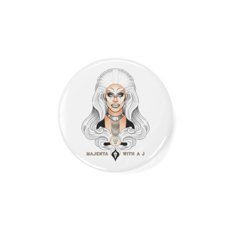 Majenta Oracle (Full Color) Accessories Button by Majenta with a J Merch