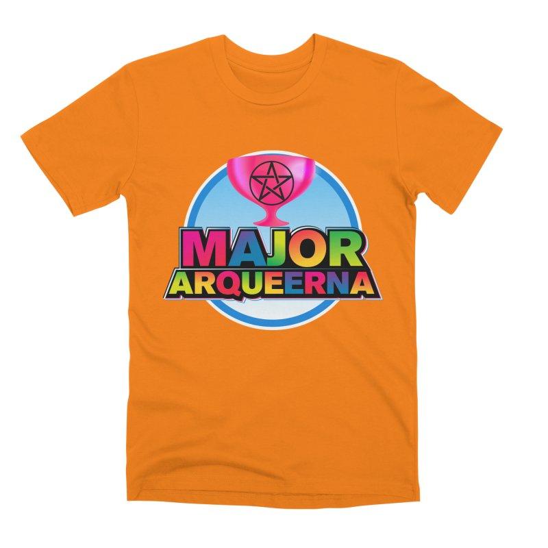 Major Arqueerna Logo Men's T-Shirt by majorarqueerna's Artist Shop