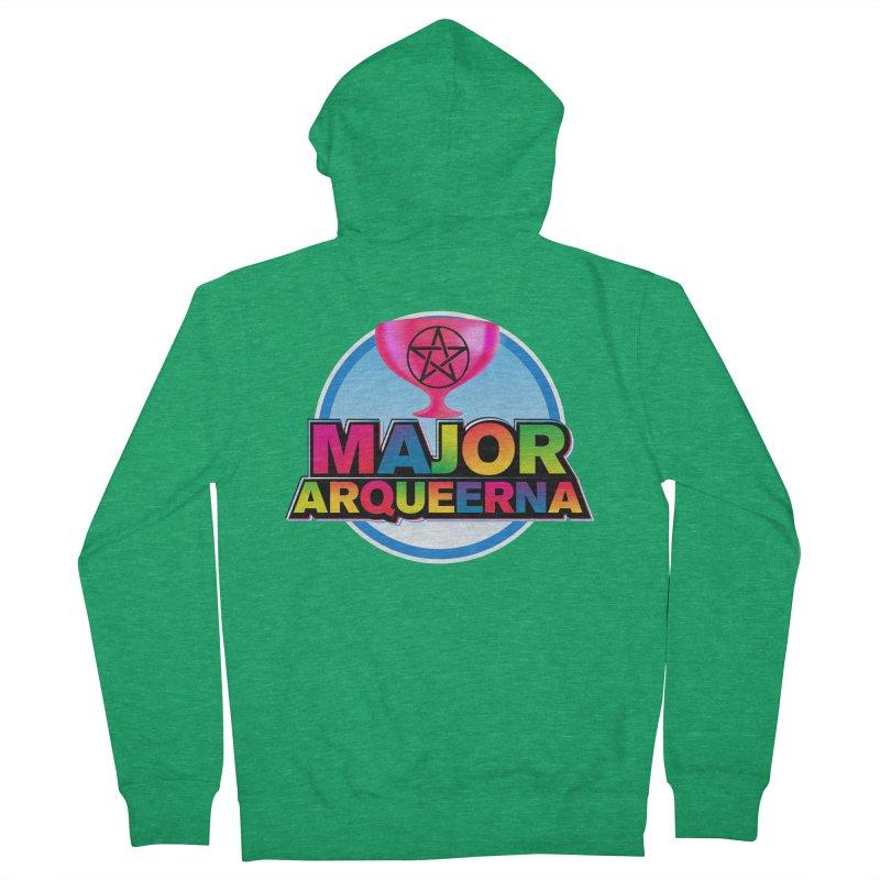 Major Arqueerna Logo Men's Zip-Up Hoody by majorarqueerna's Artist Shop