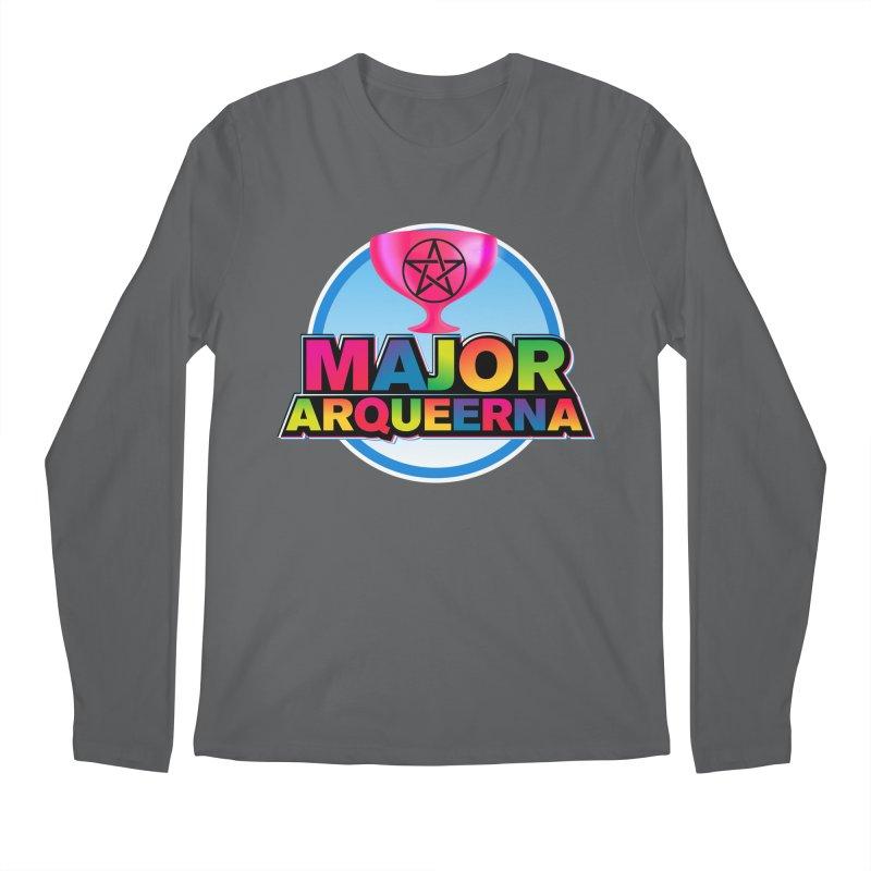Major Arqueerna Logo Men's Longsleeve T-Shirt by majorarqueerna's Artist Shop