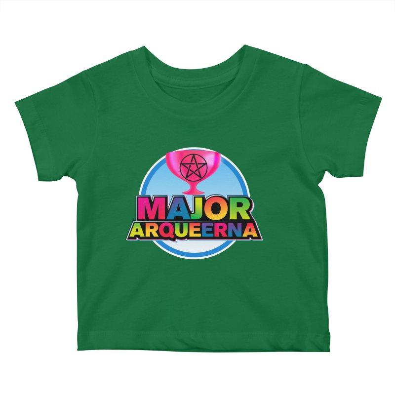 Major Arqueerna Logo Kids Baby T-Shirt by majorarqueerna's Artist Shop